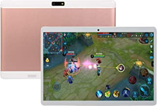 Studyset V10 10.1 Inch 4G-LTE Android 8.0 Laptop IPS HD Screen 8+128GB Dual Card Mobile Phone Call PC Tablet Pink US Plug