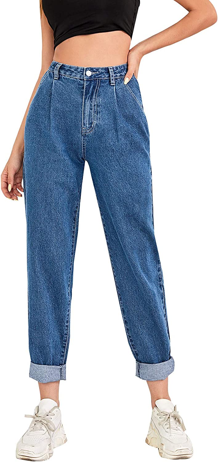 SOLY Elegant HUX Women's High Waisted Denim Jeans Casual Max 43% OFF Pants Pocket