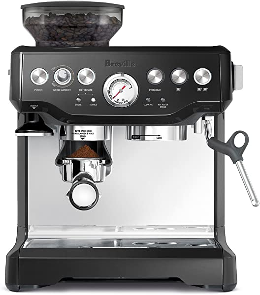 Breville BES870BSXL The Barista Express Coffee Machine Black Sesame