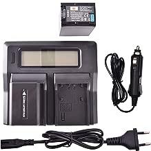 XR150/de  XR5 HDR de CX130/de  CX900 NP-F760 TD30/V Cargador para Sony DCR-SR15E SR15/de  DCR-SR88 SX15/de  SX85 PJ10/de  PJ810 de FV30 Chili Power de NP-FV50 HC9 FV40/KIT: 2/x Bater/ía FDR PT-AX100
