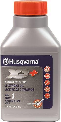discount Husqvarna wholesale 593271601 XP+ 2-Stroke Engine popular Oil, Grey, 2.6 oz outlet online sale