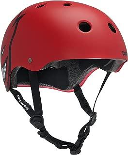 PROTEC Original Pro-Tec (CPSC) Classic Spitfire Skateboard Helmet, Matte Red, X-Large