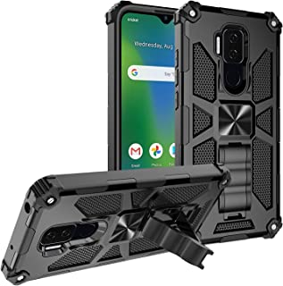 Cricket Influence Case/AT&T Maestro Plus Case [Military Grade] Ring Car Mount Kickstand Hybrid Hard PC Soft TPU Shockproof...