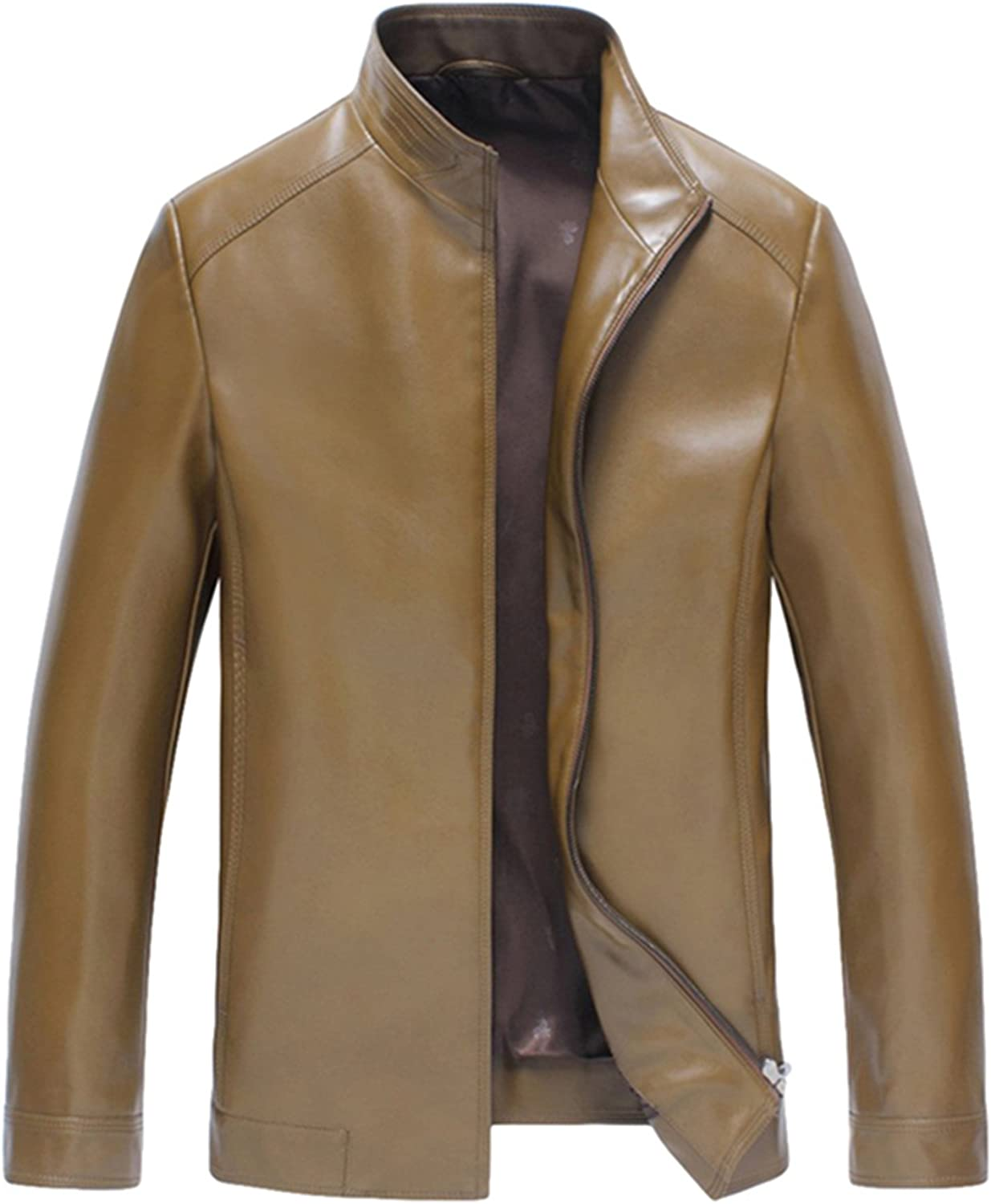Men's leather business leather Leisure leather jacket