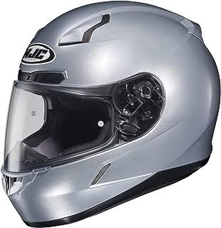 HJC CL-17 Helmet (XX-LARGE) (SILVER)