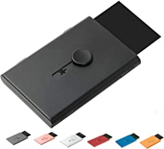 FAYEAH Business Card Holder,Thumb-Drive Business Card Holder Stainless Steel Card Case Excellent Design for Men and Women