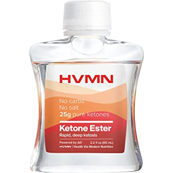 H.V.M.N. Ketone Ester - Exogenous Ketone Drink & Supplement for Endurance, Rapid Ketosis, Keto Diet, Fasting, Energy from Exogenous BHB - 3Count