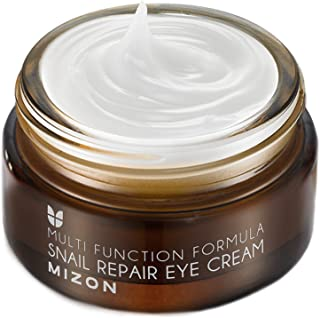 Eye Cream Moisturizer with 80% Snail Extract 0.84 Oz, Eye Cream for Dark Circles and Wrinkle Care,Natural Anti-Aging Eye C...