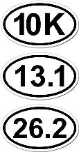 Marathon batch, 10k, 13.1, 26.2, runner, pack, dream, kit, marathon, batch, I Make Decals ®, 3 pack, car, auto, truck, pick up, window, 3