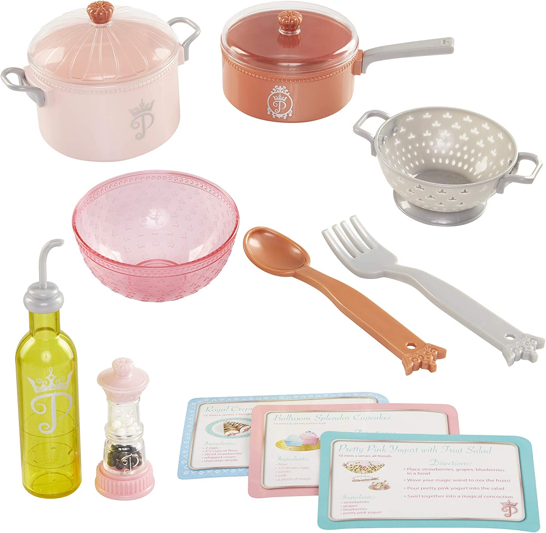 Amazon Com Disney Princess Style Collection Gourmet Cooking Set Toys Games