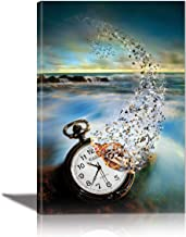 EuroGraphics Vanishing Time Painting Artwork for Home Decor Framed 24x36 inches Canvas Wall Art 24 x 170, 158 x 36 inch, S...