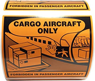 air cargo only label