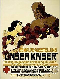 Wee Blue Coo Advert R Kaiser Franz Josef Austria Hungary War Art Print Poster Wall Decor 12X16 Inch