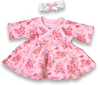 | Preemie Girls Clothing | Ruffle Dresses by Itty Bitty Baby | 1-3 and 3-5 lbs