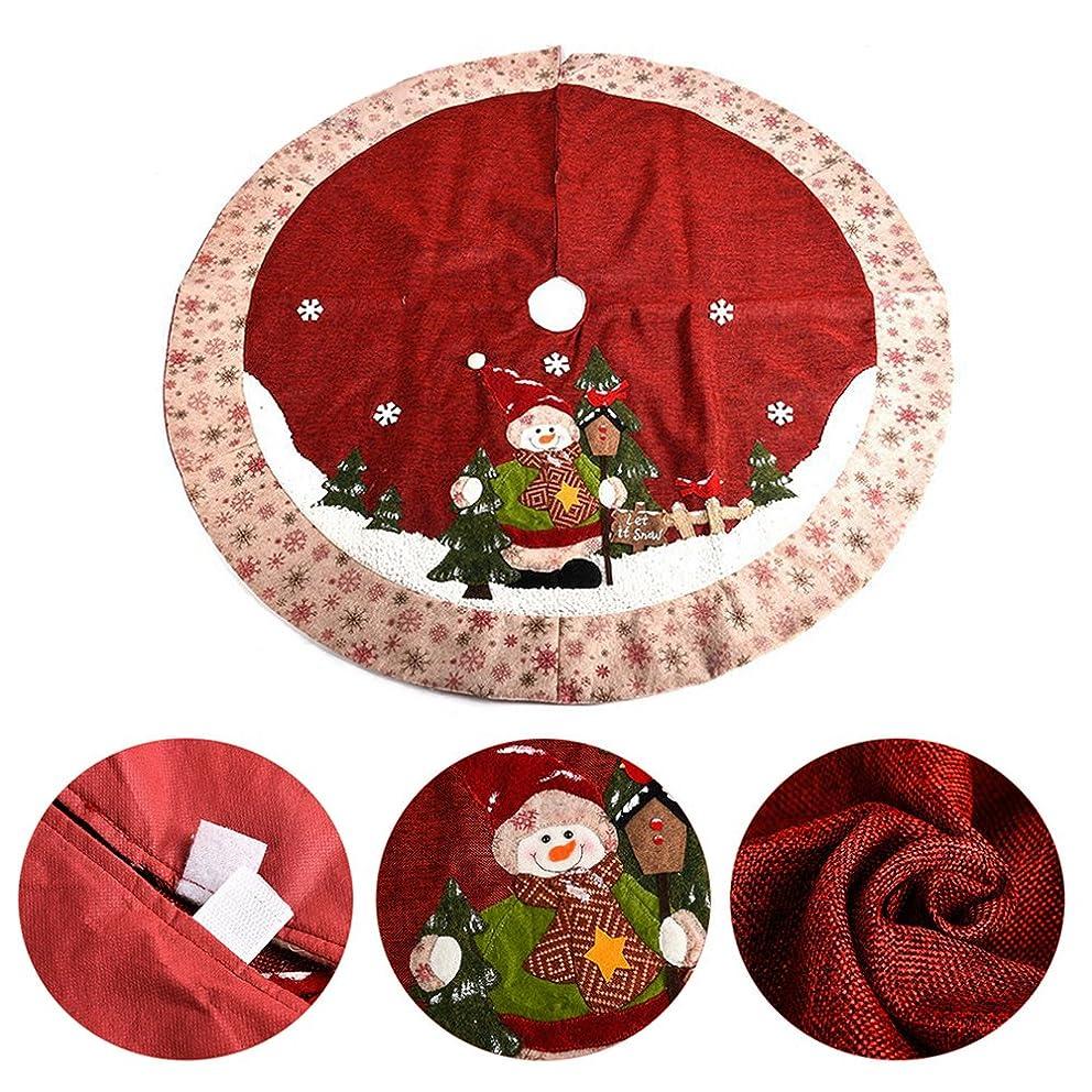 ペット財産羊のクリスマス 木パターン ツリー ツリースカート Zyurong クリスマス用品 下敷物 新しい年 パーティー装飾 正月飾り ピクニックマット オーナメント 豪華 インテリア 小物 直径120cm