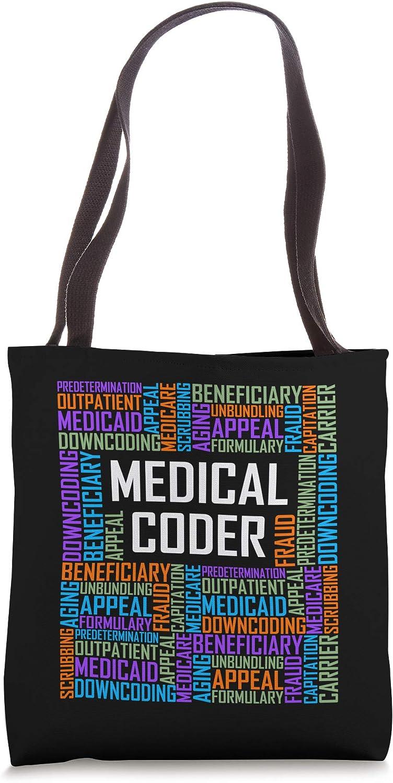 Medical Coder Words Gift Graduation Graduate Gifts Tote Bag