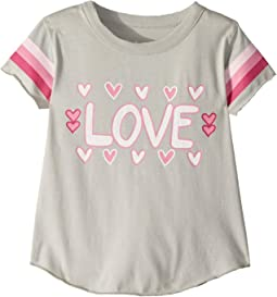 Soft Vintage Jersey Love Tee (Toddler/Little Kids)