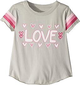 Soft Vintage Jersey Love Tee (Toddler/Little Kids)