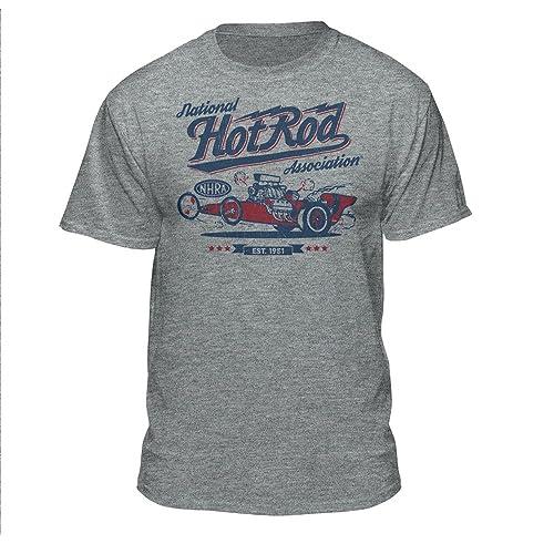 3c24c9df9a7 NHRA National Hot Rod Association Red White   Blue Drag Racing Men s  Vintage T-Shirt