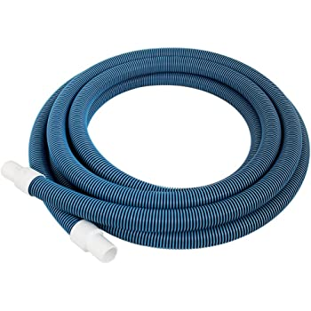Haviland NA101 Forger Loop Pool Hose, 18-ft x 1-1/4-in, Blue/White