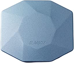 マスクケース 抗菌 おしゃれ 日本製 子供 スリム ボックス 持ち運び プレゼント かわいい 二つ折り 折りたたみ コンパクト 携帯 レディース メンズメタリック 鏡付き SLIMBOX(スリムボックス)抗菌抗ウイルスマスクケース Lサイズ