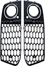 NewYall Pack of 2 Chrome Front Left Driver and Right Passenger Side Hood Above Grille Grill Cover Trim