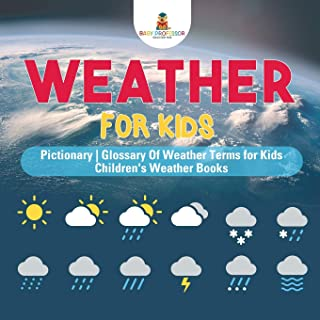Weather for Kids - Pictionary   Glossary Of Weather Terms for Kids   Children's Weather Books