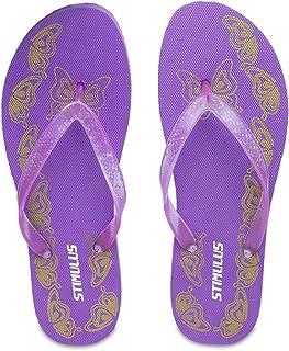 PARAGON Women's Violet Flip-Flops-7 UK (39.5 EU) (A1HW0066LVLT00007G105)