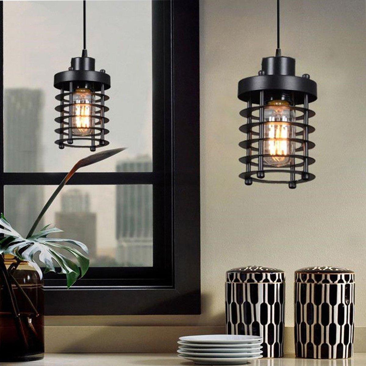 H&A産業用照明装飾用シャンデリアEdison LED電球シリンダー付きランプレトロシーリングライト