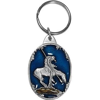 Siskiyou Automotive Metal Key Chain Mare /& Foal Western Enameled Details