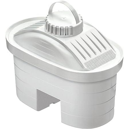 LAICA F6M Pack de 6 Cartouches filtrantes bi-Flux, Plastique, Blanc, 12,5 x 6 x 9,5 cm