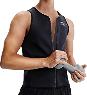 HOTSUIT Men Waist Trainer Sauna Vest Weight Loss Sauna Suit Body Shaper Corset Sweat Tank Tops