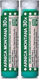 OLLOIS Arnica Montana 30x, Organic & Lactose-Free Homeopathic Medicine for Pain, Trauma, Bruising, Muscle Soreness and Sti...