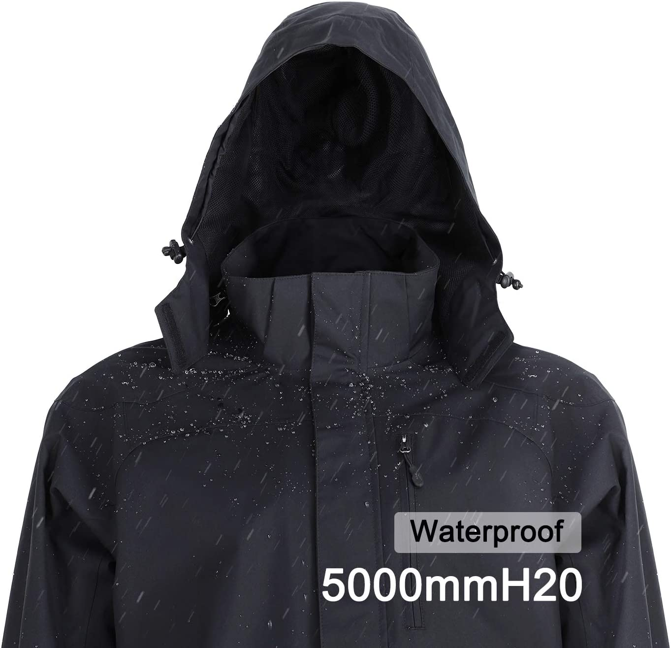 MIER Men's Lightweight Waterproof Ranking integrated 1st place In a popularity Fishing Softshell Jacke Hiking
