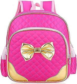Suerico Cute Durable Waterproof Toddler Preschool Bag Kindergarten Kids Backpack for Girls
