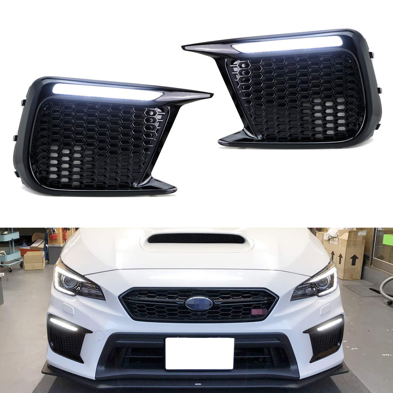 2018 2019 Subaru WRX STI Front Fog Light Bezels Left Right 57731VA400 57731VA410