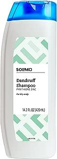 Amazon Brand - Solimo Dandruff Shampoo, Dry Scalp, 14.2 Fluid Ounce