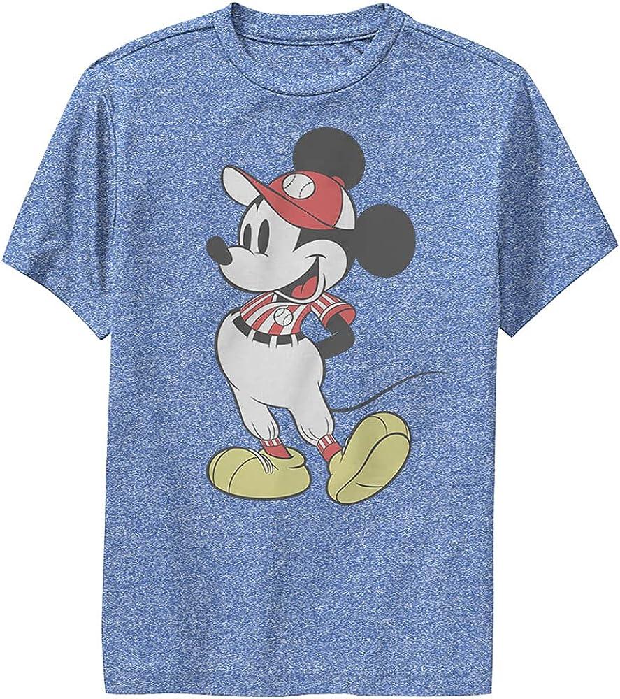 Disney Characters Baseball Season Mickey Boy's Performance Tee