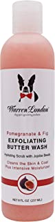 Warren London Exfoliating Butter Wash - Premium Conditioning Dog Shampoo - 2 Scents - 8oz & 1gal Sizes