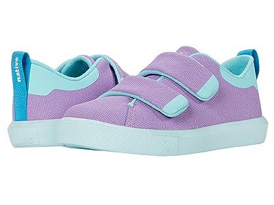 Native Kids Shoes Monaco CT Canvas (Toddler) (Lavender Purple/Hydrangea Blue) Girl