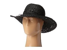 Big Brim Crocheted Toyo Hat