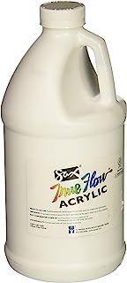 Sax True Flow Heavy Body Acrylic Paint, 1/2 Gallon, Titanium White - 439301