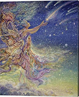 Catch A Falling Star by Josephine Wall Canvas Art Wall Picture, Gallery Wrap, 16 x 20 inches