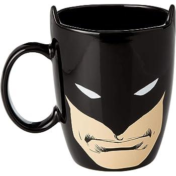 Enesco Our Name is Mud DC Comics Batman Sculpted Coffee Mug, 16 oz.