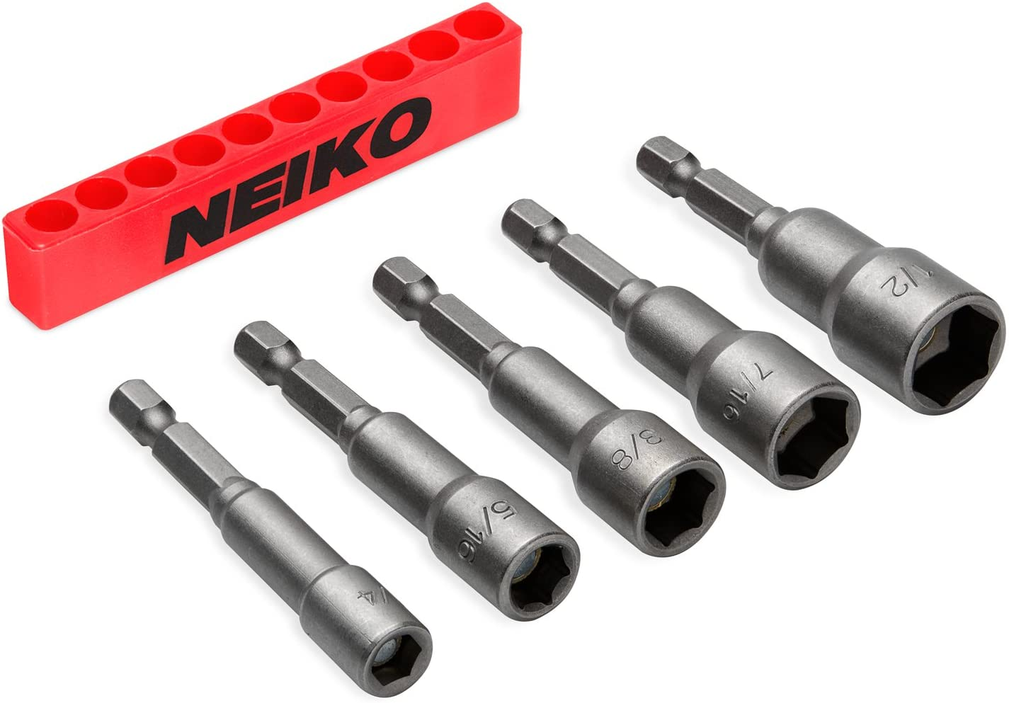 """40% OFF Cheap Sale NEIKO 10066A 1 4"""" Hex Shank Magnetic Inventory cleanup selling sale Power Set Nut Driver"""