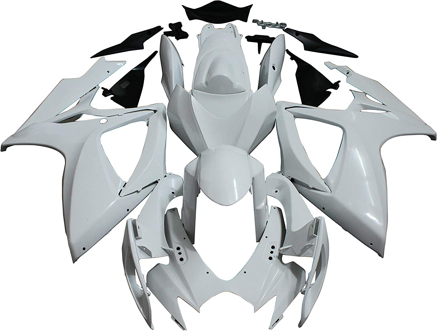 FFMT Motorcycle Fairings ABS Molded Unpainted Fits Fairing El Paso Mall f High order Kit