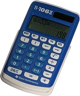 Texas Instruments TI 106 - Calculadora científica Ti-106 Solar