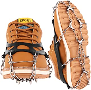 featured product Cutiful Traction Cleats Crampons Ice Grips Boots Spikes Men Women Shoes Spikes Walking Camping Winter Snow Hiking Spikes