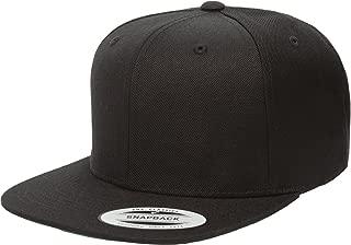 Wool Blend Prostyle Snapback Cap - Black W41S71B