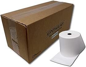 EPOSGEAR 80mm x 80mm BPA Free Thermal Cash Register/POS Paper Rolls (20)